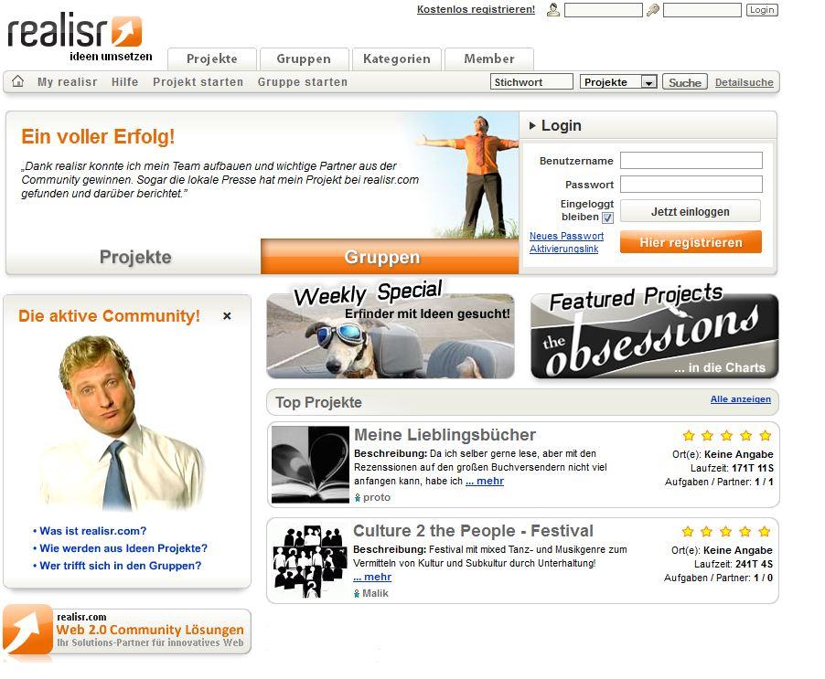 realisr.com - Ideen umsetzen
